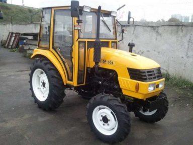 Трактор Донгфенг (DONGFENG) DF 304 с кабиной