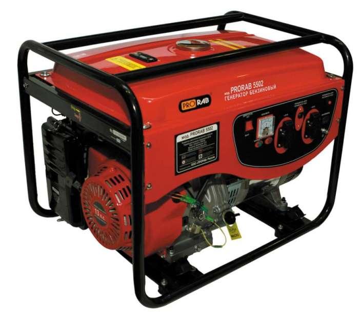 Бензиновый генератор PRORAB 5502