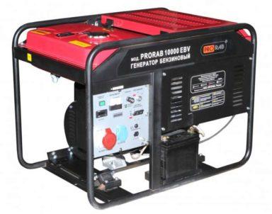 Бензиновый генератор PRORAB 10002 EBV