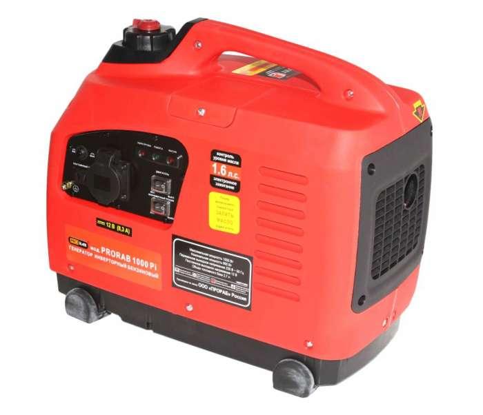 Бензиновый инверторный генератор PRORAB 1000 PI