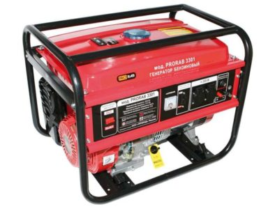Бензиновый генератор PRORAB 3301