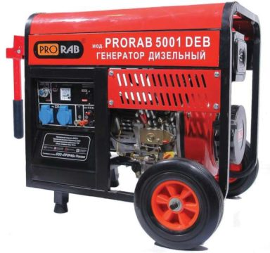 Дизельный генератор PRORAB 5001 DEB
