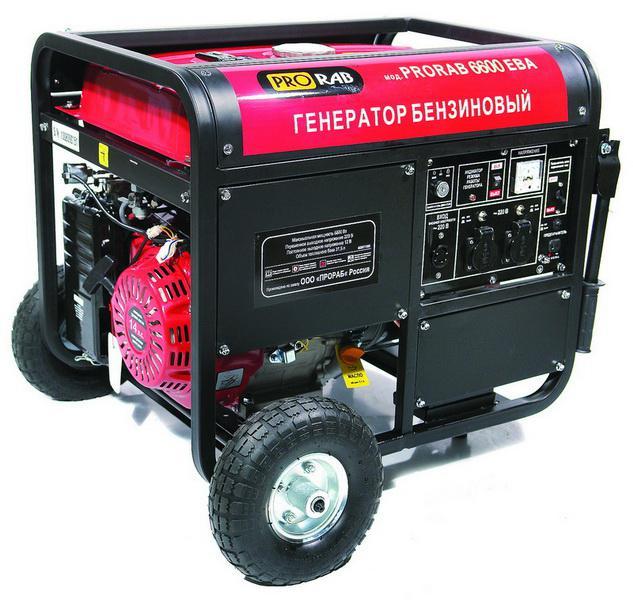 Бензиновый генератор PRORAB 6603 ЕВA