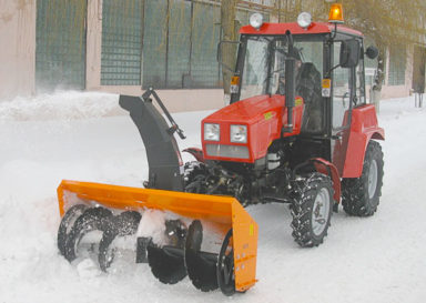 Фрезерно - роторный снегоочиститель СТ-1500 на трактор МТЗ-320 (Беларус-320)
